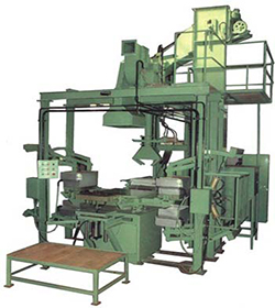 Auto 4 Stn. Shell Moulding Machine